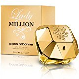 Paco Rabanne Lady Million by Eau De Parfum Spray for Women, 2.70 Ounce