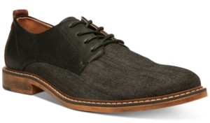 Steve Madden Men's Yeller Mixed-Media Casual Oxfords Men's Shoes