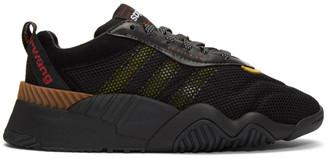Adidas Originals By Alexander Wang Black Turnout Sneakers