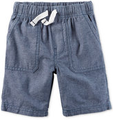 Carter's Chambray Shorts, Toddler Boys (2T-4T)
