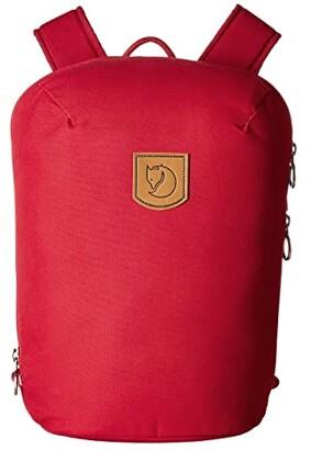 Fjallraven Kiruna Backpack Small (Redwood) Backpack Bags