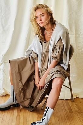 The Endless Summer Syd Poplin Midi Dress