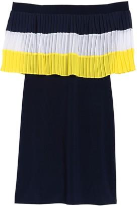 MSK Off The Shoulder Pleated Dress