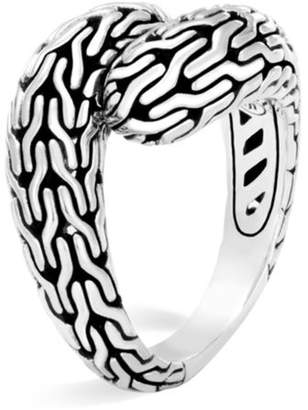 John Hardy Classic Chain Sterling Silver Ring