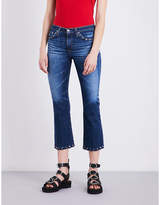 AG Jeans Jodi cropped high-rise jeans