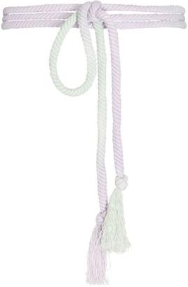 Isabel Marant Lyma Ombre Rope Waist Belt
