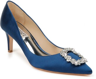 Badgley Mischka Collection Carrie Crystal Embellished Pump
