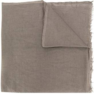 Rick Owens long soft scarf
