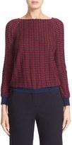 Armani Collezioni Women's Stripe Jacquard Sweater