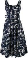 Samantha Sung printed belt dress