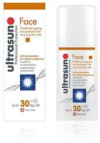 Ultrasun Tinted Anti-Ageing Sun Cream for Sensitive Skin SPF30 50ml
