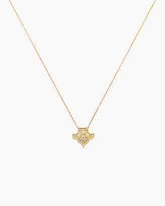 Amrapali Heritage Fleur Pendant Necklace.