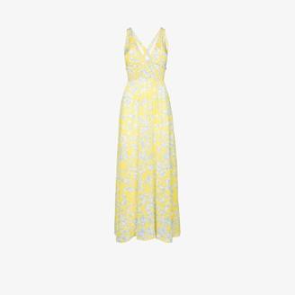 Heidi Klein Cancun floral print maxi dress