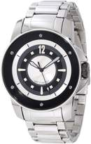 Gattinoni Men's Draco Stainless Steel Luminous Watch W0195JSSSLV