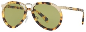 Prada Sunglasses, Pr 01TS 56