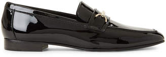 Bruno Magli Black Marco Patent Loafers