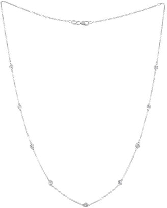 Diana M Fine Jewelry 14K 0.85 Ct. Tw. Diamond Necklace
