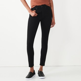 Nine West Women's Perfect High-Waisted Skinny Jeans