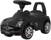 Mercedes Benz Licensed SLS AMG Push Car in Black