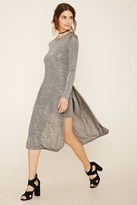 Forever 21 Layered Stretchy Marled Dress