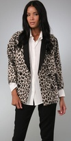 Combo Leopard Blazer