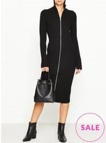 Calvin Klein Sia Zip Through Dress