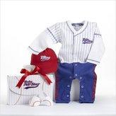 Baby Aspen BA16010BL ''Big Dreamzzz'' Baby Baseball Three-Piece Layette Set in All-Star Gift Box