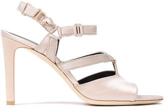 Balenciaga Satin Sandals