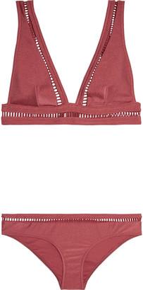 Zimmermann Bonita Lattice-trimmed Bikini