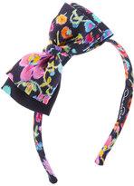 Oscar de la Renta Girls' Chine Garden Bow Headband