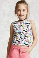 Forever 21 Girls Minnie Mouse Tank Top