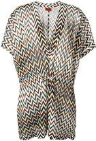 Missoni zig zag beach dress - women - Rayon - 42