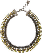 BCBGMAXAZRIA Corded Stone Necklace