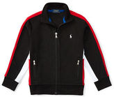 Ralph Lauren Boys 2-7 Long Sleeve Interlock Track Jacket