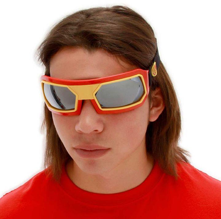 Iron Man Marvel costume goggles - adult