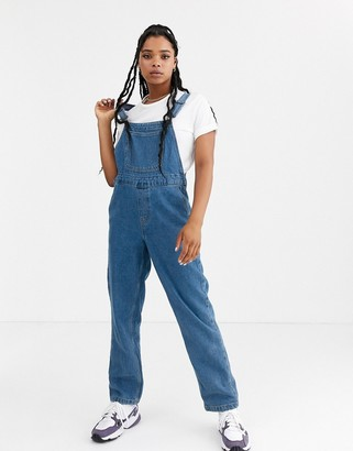 Noisy May denim mom overalls