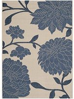Safavieh Courtyard Collection CY7321-233A25 Beige and Blue Indoor/Outdoor Area Rug, 2-Feet by 3-Feet 7-Inch