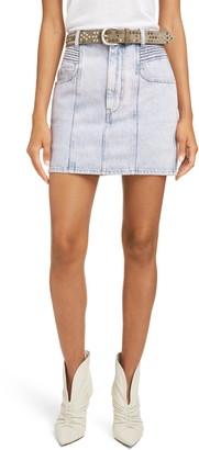 Etoile Isabel Marant Hondo Denim Miniskirt