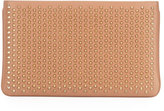 Christian Louboutin Loubiposh Spiked Clutch Bag, Nude