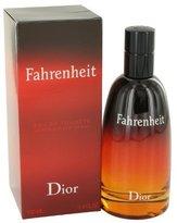 Christian Dior Fahrenheit By Edt Spray 3.4 Oz