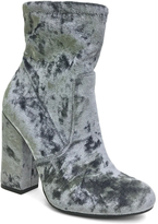 Bamboo Gray Velvet Namaste Boot