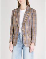 Etoile Isabel Marant Isaure single-breasted linen jacket
