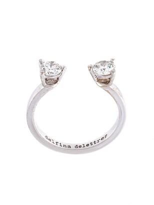 Delfina Delettrez 'Dots' diamond midi fingertip ring