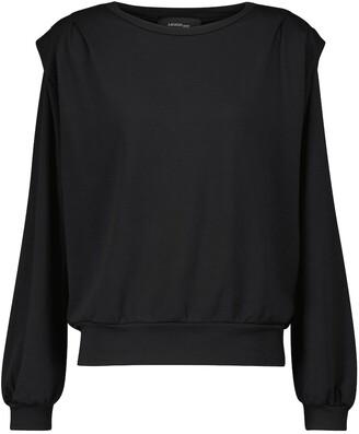 Lanston Overland mesh-insert sweatshirt