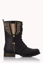 FOREVER 21 Rock'n'Roll Combat Boots