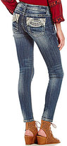 Miss Me Circle Pocket Stretch Skinny Jeans
