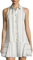 Dolce Vita Drew Striped Fit-and-Flare Shirtdress