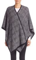 Joie Stacee Brushed Plaid Poncho
