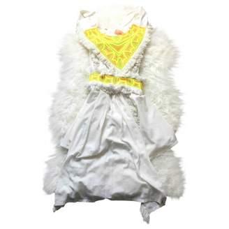Manoush White Cotton Dress for Women