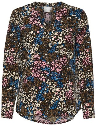 Ichi Bruce Riviera Floral Blouse - Small